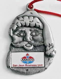 Santa Face MasterCast Design Cast Ornament