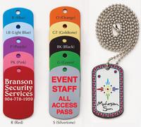 Anodized Aluminum Dog Tag